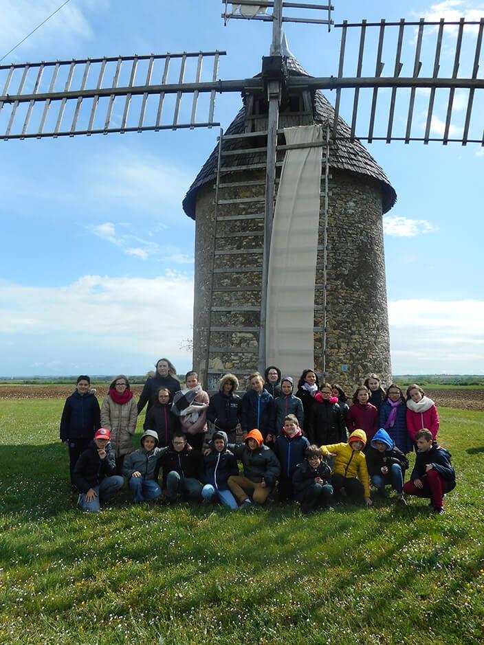 foto de Classes énergies : visite du moulin de Cherves | EDF France