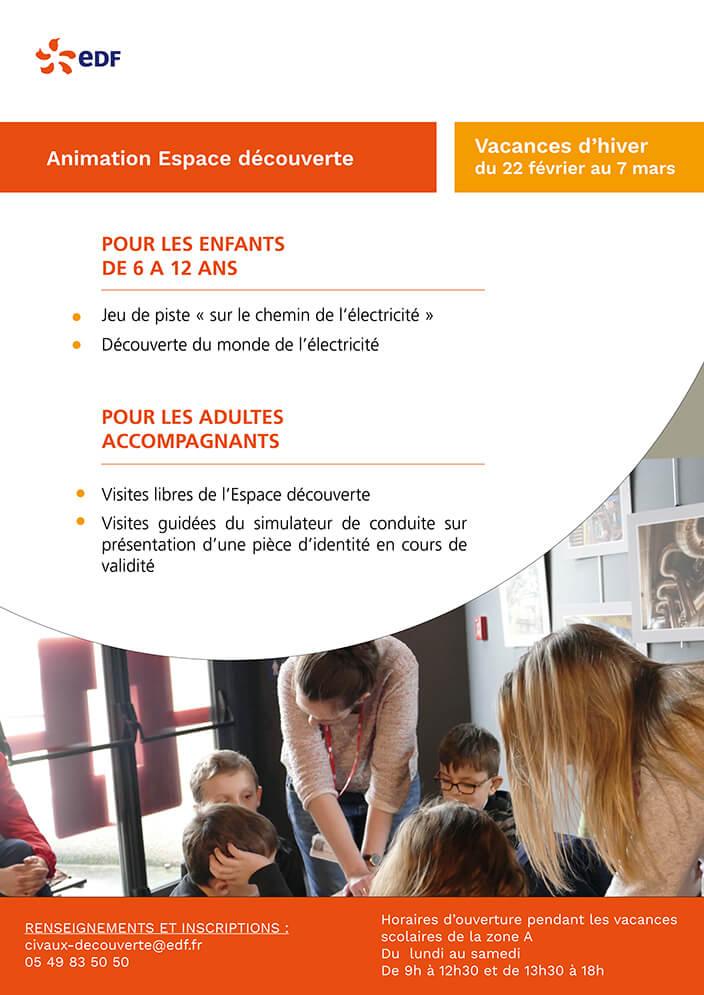 Pendant Les Vacances D Hiver Les Enfants Ont Rendez Vous Au Jeu De Piste Sur Le Chemin De L Electricite Edf France