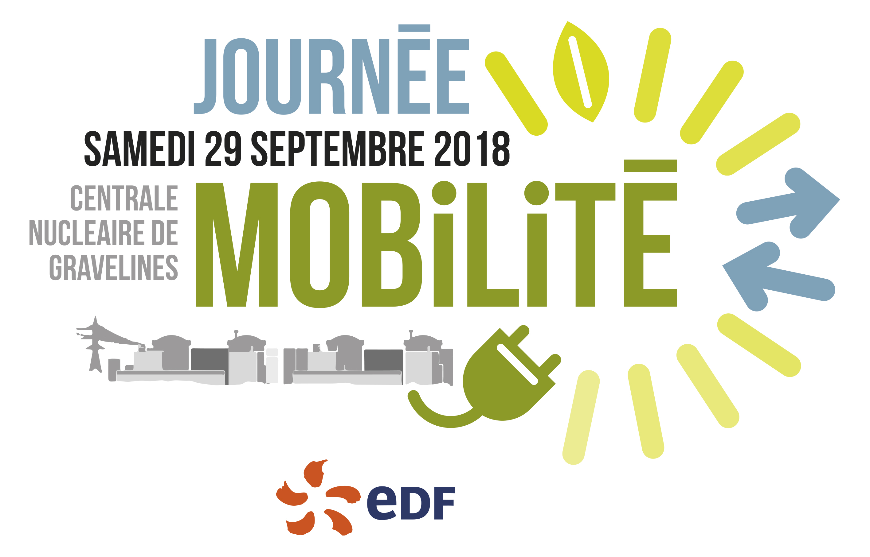 journ e mobilit la centrale nucl aire de gravelines le 29 septembre 2018 edf france. Black Bedroom Furniture Sets. Home Design Ideas
